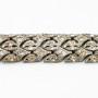W0420-1940's Rhinestone  Bracelet