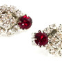 W140008-ClearRhinestoneRedClipEarrings