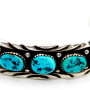 W140009-SterlingTurquoiseCuffBracelet B Touchine